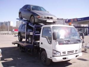 Эвакуация двух легковых автомобилей